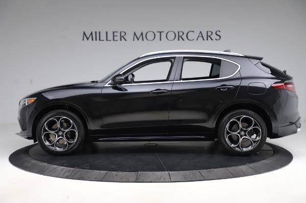 New 2020 Alfa Romeo Stelvio Ti Q4 for sale Sold at Bentley Greenwich in Greenwich CT 06830 3