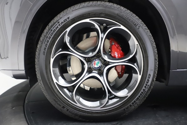 New 2020 Alfa Romeo Stelvio Ti Q4 for sale Sold at Bentley Greenwich in Greenwich CT 06830 15