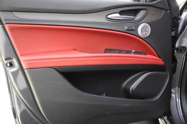 New 2020 Alfa Romeo Stelvio Ti Q4 for sale Sold at Bentley Greenwich in Greenwich CT 06830 19
