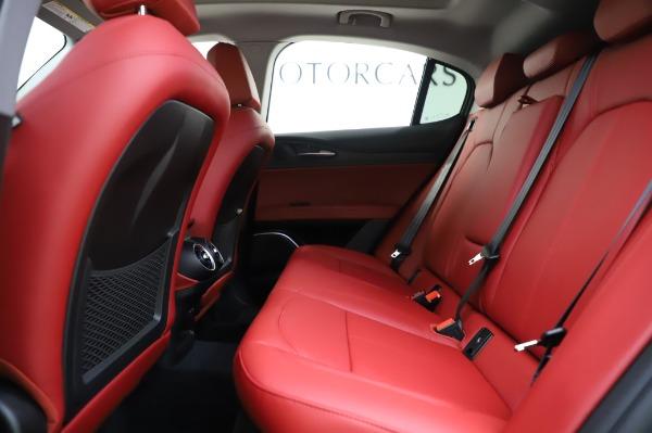 New 2020 Alfa Romeo Stelvio Ti Q4 for sale Sold at Bentley Greenwich in Greenwich CT 06830 22