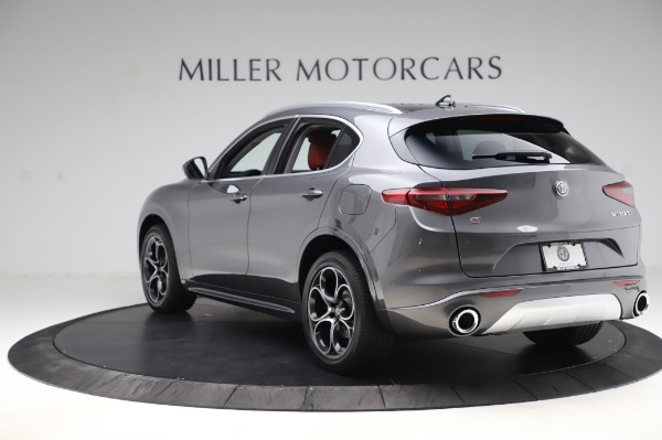 New 2020 Alfa Romeo Stelvio Ti Q4 for sale Sold at Bentley Greenwich in Greenwich CT 06830 6