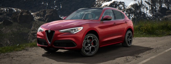 New 2020 Alfa Romeo Stelvio Ti Lusso Q4 for sale $54,745 at Bentley Greenwich in Greenwich CT 06830 1