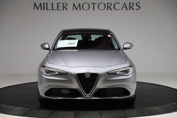 New 2020 Alfa Romeo Giulia Ti Q4 for sale Call for price at Bentley Greenwich in Greenwich CT 06830 12