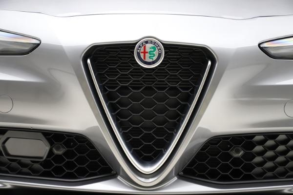New 2020 Alfa Romeo Giulia Ti Q4 for sale Call for price at Bentley Greenwich in Greenwich CT 06830 13