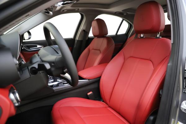 New 2020 Alfa Romeo Giulia Ti Q4 for sale Call for price at Bentley Greenwich in Greenwich CT 06830 16