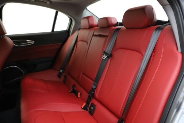 New 2020 Alfa Romeo Giulia Ti Q4 for sale Call for price at Bentley Greenwich in Greenwich CT 06830 19