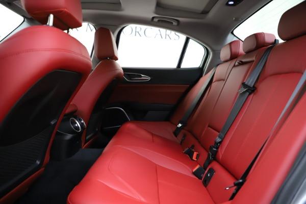 New 2020 Alfa Romeo Giulia Ti Q4 for sale Call for price at Bentley Greenwich in Greenwich CT 06830 20