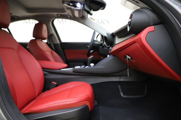 New 2020 Alfa Romeo Giulia Ti Q4 for sale Call for price at Bentley Greenwich in Greenwich CT 06830 24