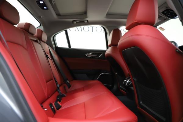 New 2020 Alfa Romeo Giulia Ti Q4 for sale Call for price at Bentley Greenwich in Greenwich CT 06830 28