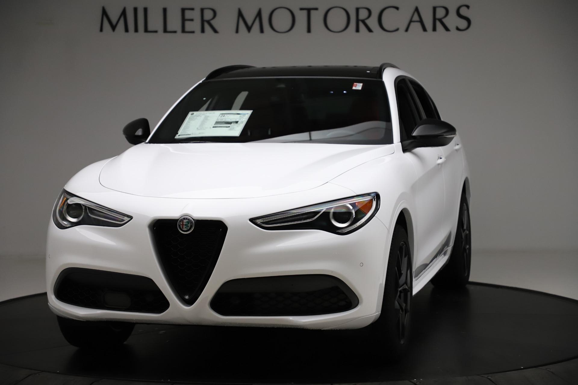 New 2020 Alfa Romeo Stelvio Ti Sport Q4 for sale $54,345 at Bentley Greenwich in Greenwich CT 06830 1