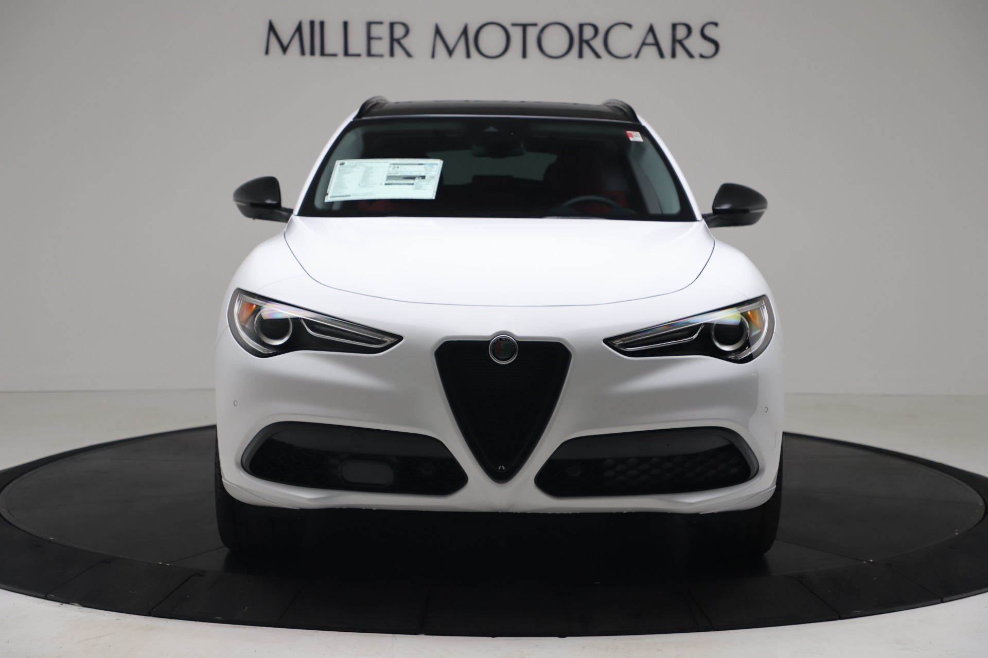 New 2020 Alfa Romeo Stelvio Ti Sport Q4 for sale $54,345 at Bentley Greenwich in Greenwich CT 06830 1