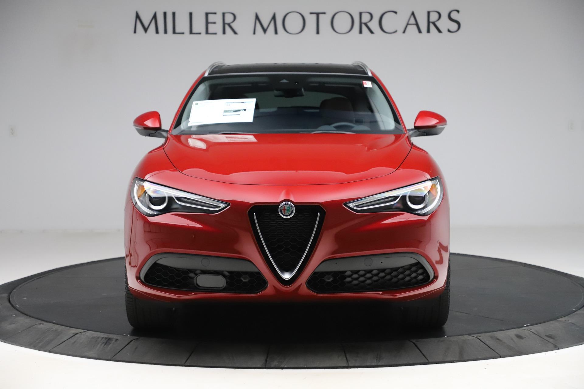 New 2020 Alfa Romeo Stelvio Ti Lusso Q4 for sale $56,495 at Bentley Greenwich in Greenwich CT 06830 1