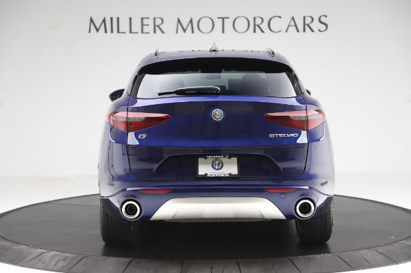 New 2020 Alfa Romeo Stelvio Sport Q4 for sale $50,895 at Bentley Greenwich in Greenwich CT 06830 6