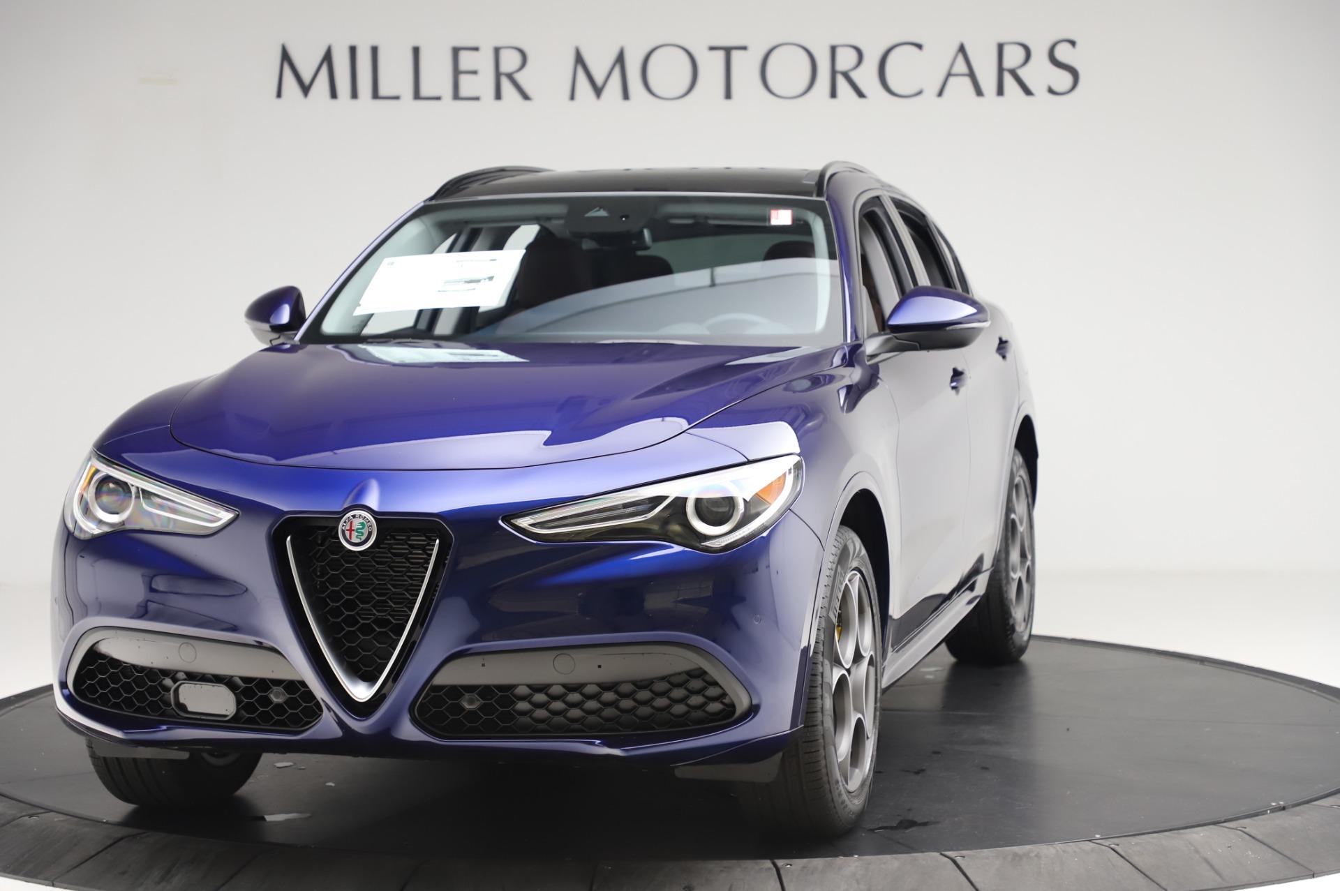 New 2020 Alfa Romeo Stelvio Sport Q4 for sale $50,895 at Bentley Greenwich in Greenwich CT 06830 1