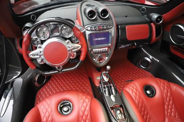 Used 2017 Pagani Huayra Roadster for sale Call for price at Bentley Greenwich in Greenwich CT 06830 23