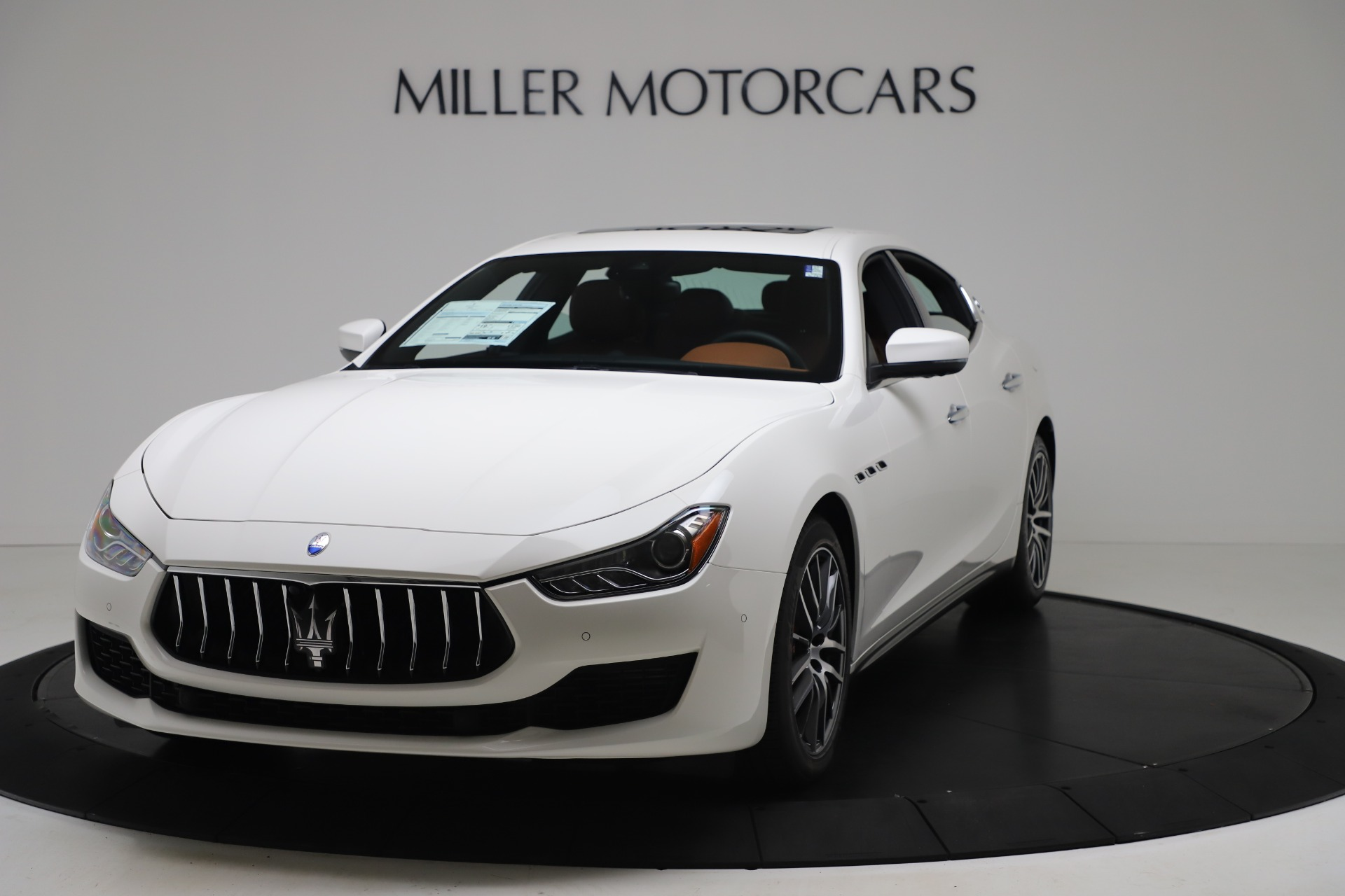 New 2020 Maserati Ghibli S Q4 for sale $84,735 at Bentley Greenwich in Greenwich CT 06830 1