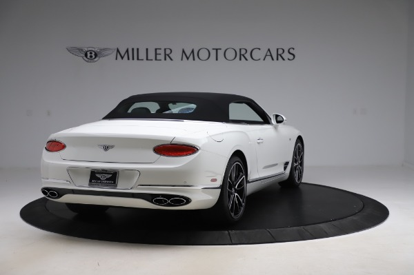 New 2020 Bentley Continental GTC V8 First Edition for sale $281,365 at Bentley Greenwich in Greenwich CT 06830 18