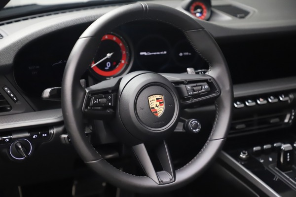 Used 2020 Porsche 911 Carrera 4S for sale Call for price at Bentley Greenwich in Greenwich CT 06830 20