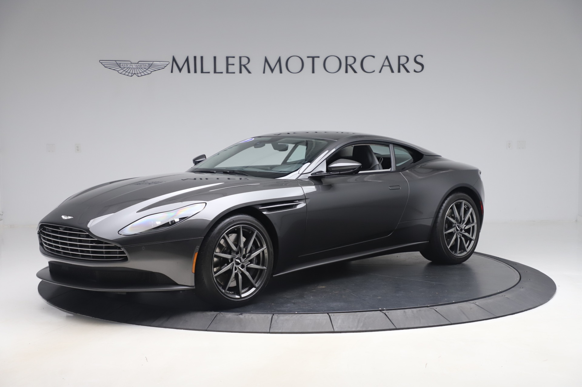 Used 2019 Aston Martin DB11 V8 Coupe for sale Sold at Bentley Greenwich in Greenwich CT 06830 1