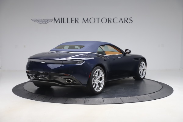 Used 2019 Aston Martin DB11 Volante Convertible for sale Sold at Bentley Greenwich in Greenwich CT 06830 23