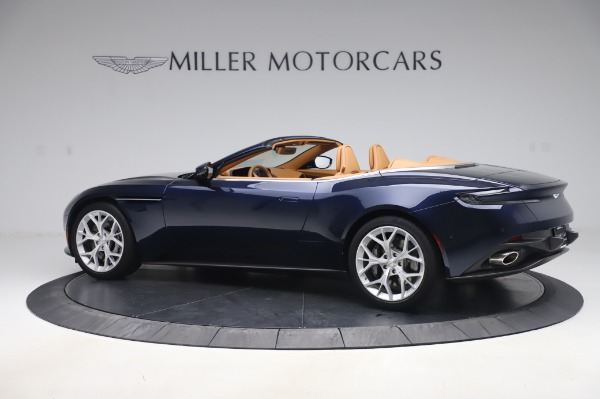 Used 2019 Aston Martin DB11 Volante Convertible for sale Sold at Bentley Greenwich in Greenwich CT 06830 3