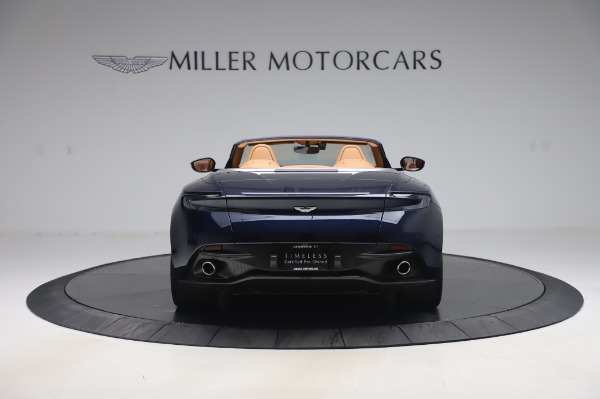 Used 2019 Aston Martin DB11 Volante Convertible for sale Sold at Bentley Greenwich in Greenwich CT 06830 5