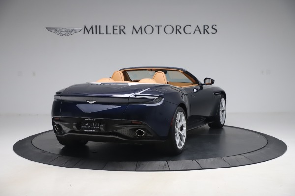 Used 2019 Aston Martin DB11 Volante Convertible for sale $219,900 at Bentley Greenwich in Greenwich CT 06830 6