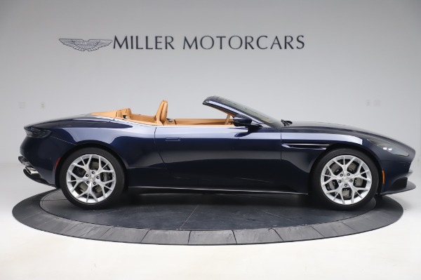 Used 2019 Aston Martin DB11 Volante Convertible for sale $219,900 at Bentley Greenwich in Greenwich CT 06830 8