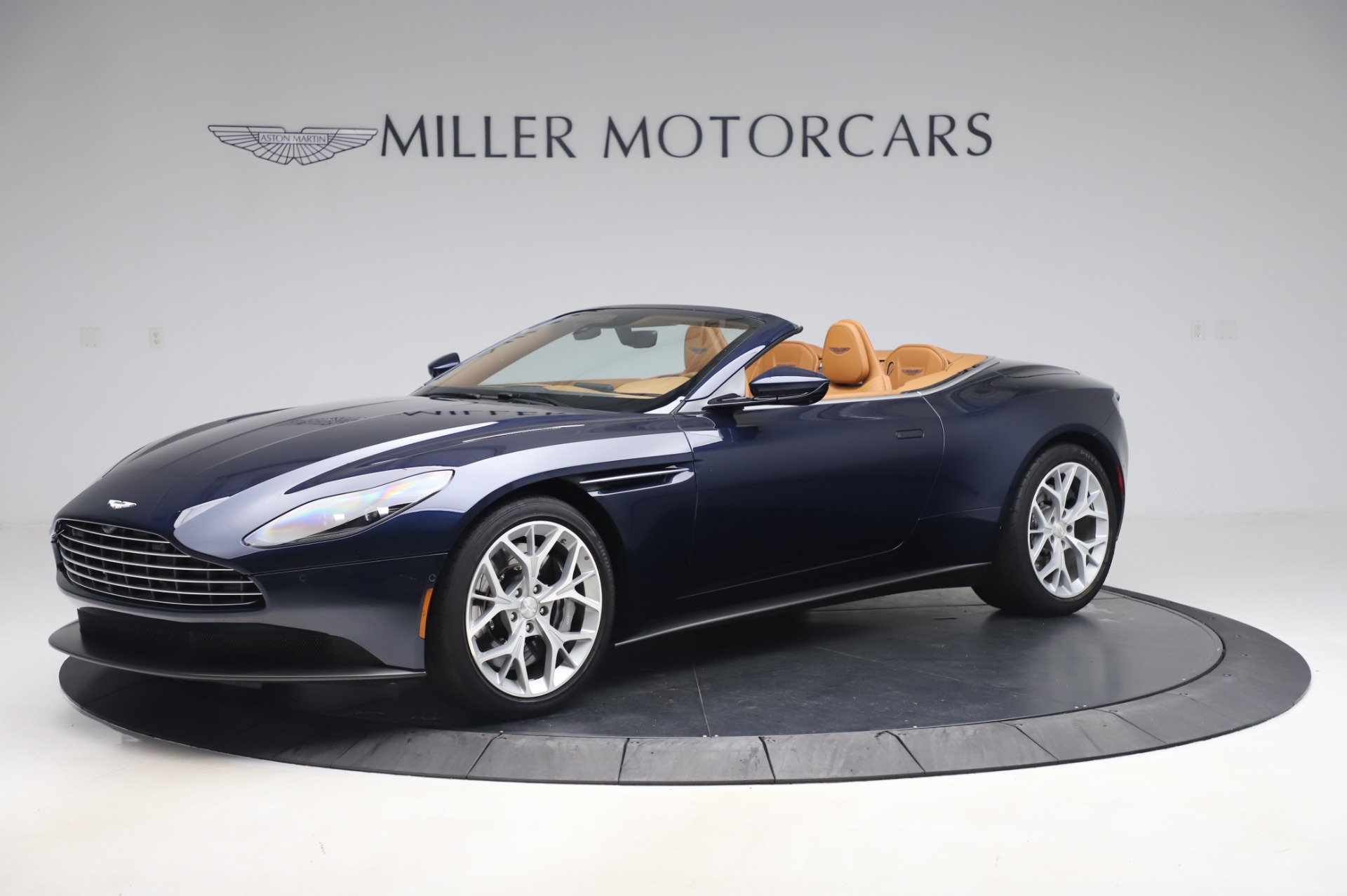 Used 2019 Aston Martin DB11 Volante Convertible for sale Sold at Bentley Greenwich in Greenwich CT 06830 1
