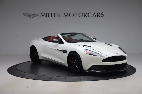 Used 2018 Aston Martin Vanquish S Volante for sale $183,900 at Bentley Greenwich in Greenwich CT 06830 10