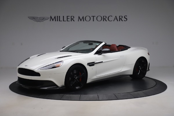 Used 2018 Aston Martin Vanquish S Volante for sale $183,900 at Bentley Greenwich in Greenwich CT 06830 1