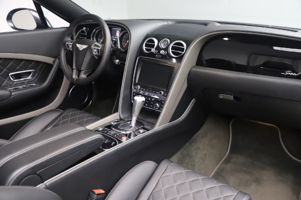 Used 2016 Bentley Continental GTC Speed for sale $146,900 at Bentley Greenwich in Greenwich CT 06830 23