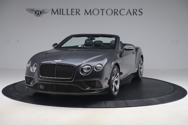 Used 2016 Bentley Continental GT Convertible Speed for sale $139,900 at Bentley Greenwich in Greenwich CT 06830 1