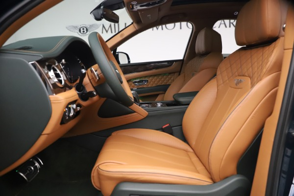 New 2021 Bentley Bentayga V8 First Edition for sale Sold at Bentley Greenwich in Greenwich CT 06830 19