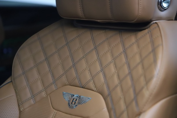 New 2021 Bentley Bentayga V8 First Edition for sale Sold at Bentley Greenwich in Greenwich CT 06830 22