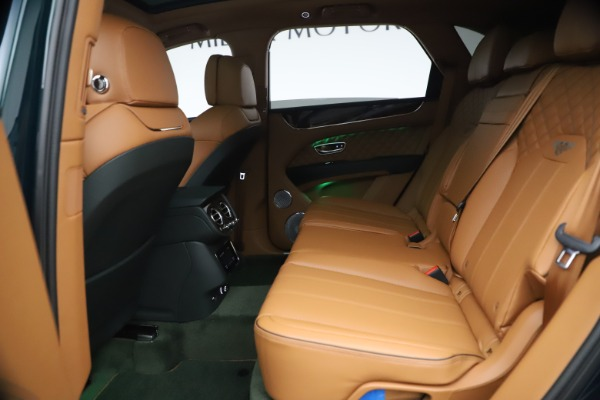 New 2021 Bentley Bentayga V8 First Edition for sale Sold at Bentley Greenwich in Greenwich CT 06830 24