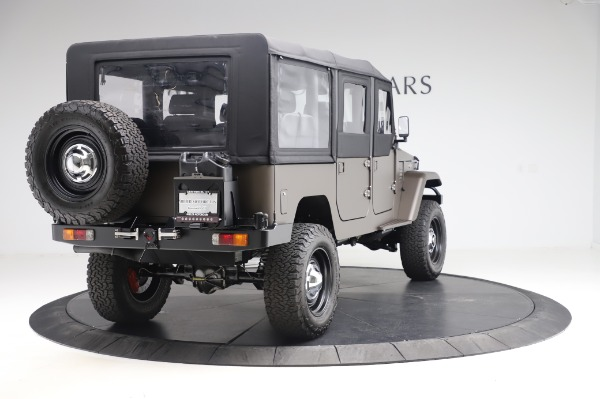 Used 1974 Toyota FJ44 Icon for sale $249,900 at Bentley Greenwich in Greenwich CT 06830 7