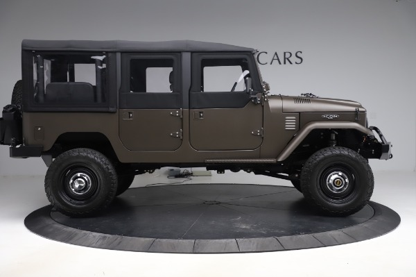 Used 1974 Toyota FJ44 Icon for sale $249,900 at Bentley Greenwich in Greenwich CT 06830 9