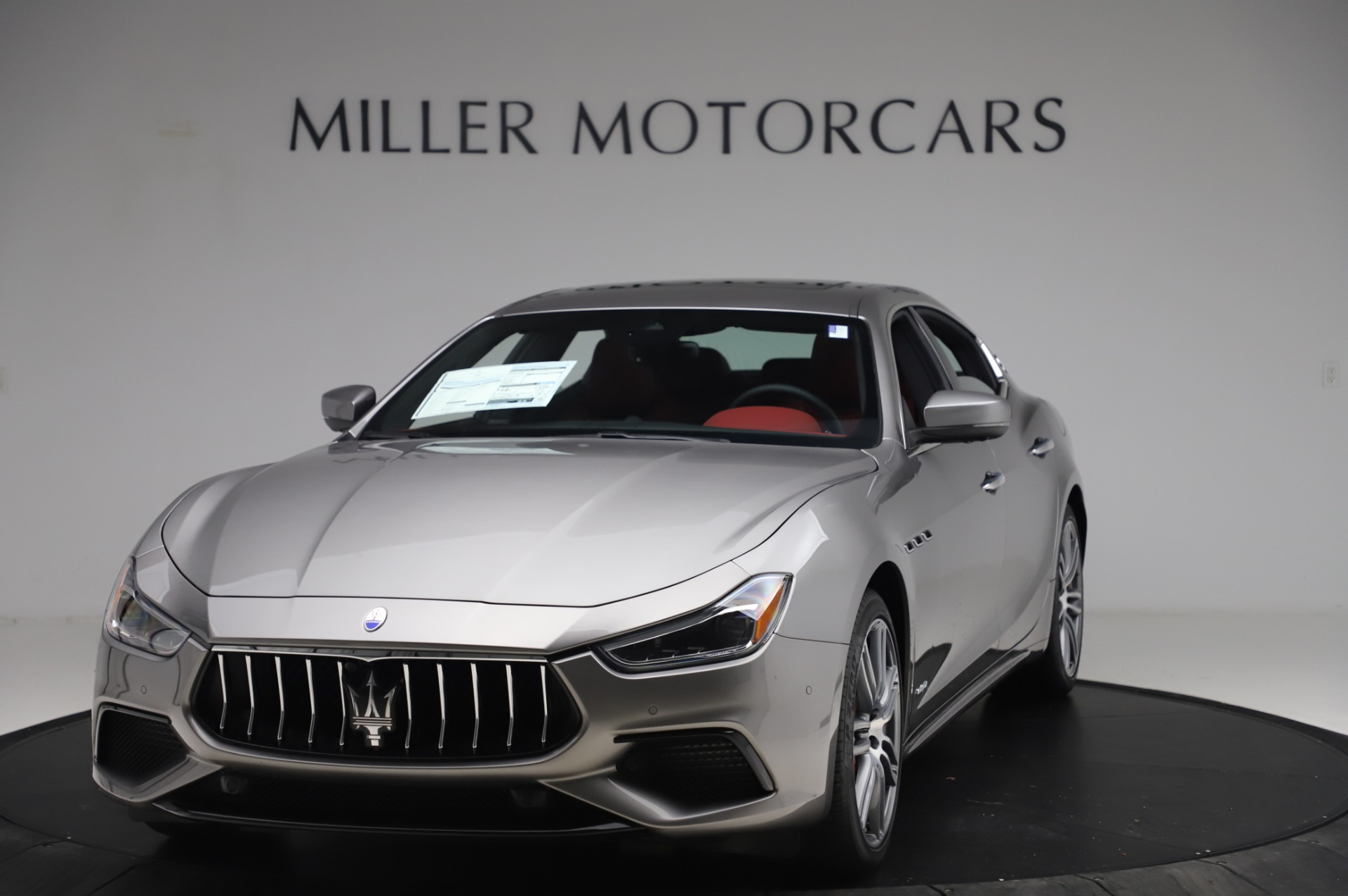 New 2020 Maserati Ghibli S Q4 GranSport for sale $93,285 at Bentley Greenwich in Greenwich CT 06830 1