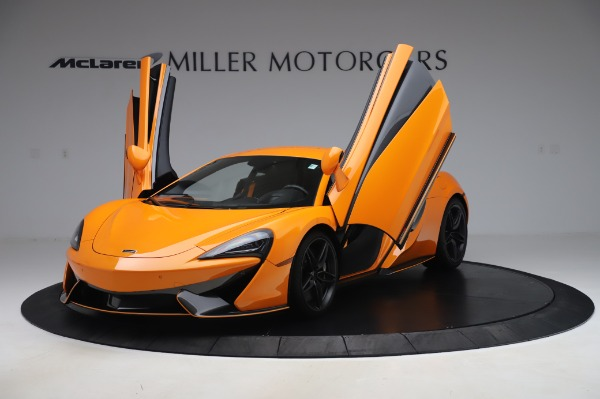 Used 2017 McLaren 570S Coupe for sale $149,900 at Bentley Greenwich in Greenwich CT 06830 13