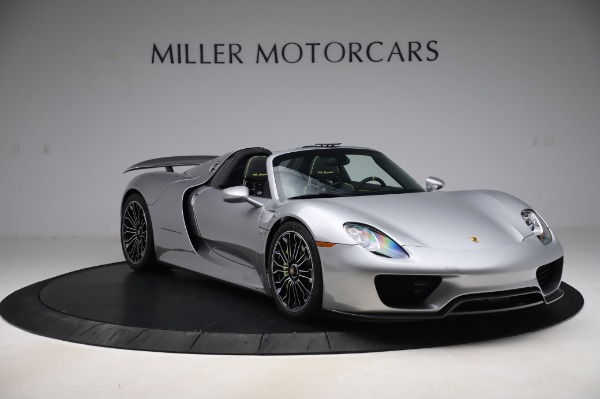 Used 2015 Porsche 918 Spyder for sale Sold at Bentley Greenwich in Greenwich CT 06830 10