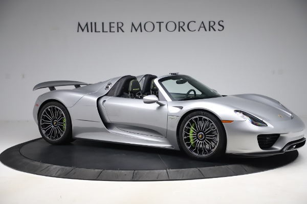 Used 2015 Porsche 918 Spyder for sale Sold at Bentley Greenwich in Greenwich CT 06830 11