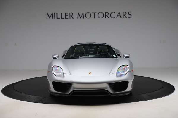 Used 2015 Porsche 918 Spyder for sale Sold at Bentley Greenwich in Greenwich CT 06830 12