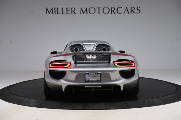 Used 2015 Porsche 918 Spyder for sale Sold at Bentley Greenwich in Greenwich CT 06830 13