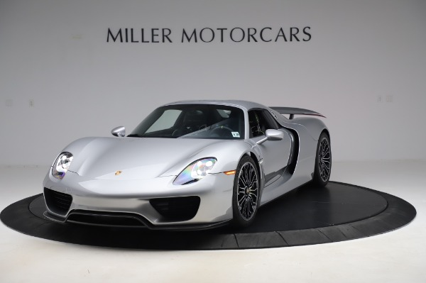 Used 2015 Porsche 918 Spyder for sale Sold at Bentley Greenwich in Greenwich CT 06830 14