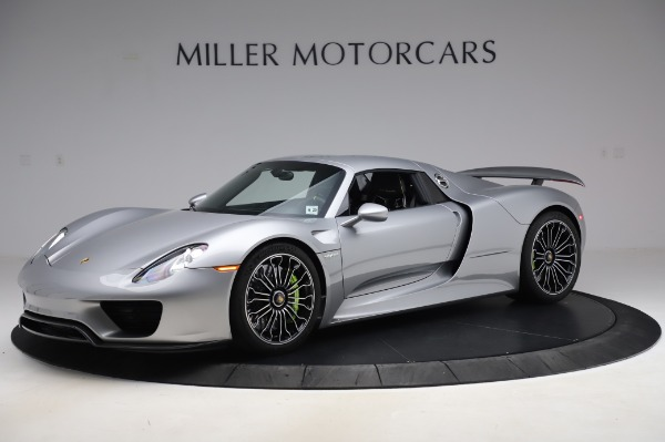 Used 2015 Porsche 918 Spyder for sale Sold at Bentley Greenwich in Greenwich CT 06830 16