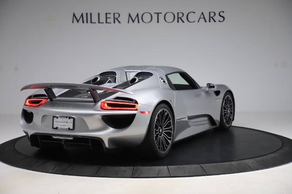 Used 2015 Porsche 918 Spyder for sale Sold at Bentley Greenwich in Greenwich CT 06830 17