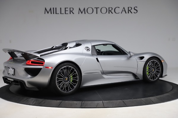 Used 2015 Porsche 918 Spyder for sale Sold at Bentley Greenwich in Greenwich CT 06830 18