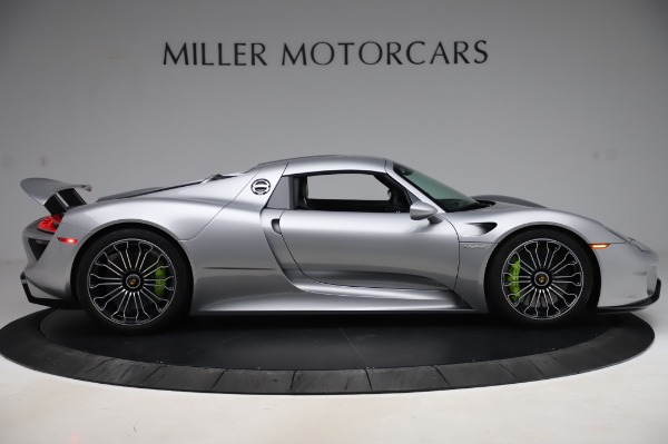 Used 2015 Porsche 918 Spyder for sale Sold at Bentley Greenwich in Greenwich CT 06830 19