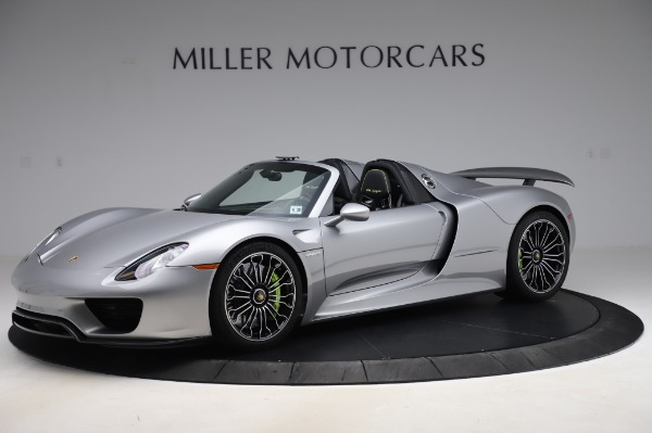 Used 2015 Porsche 918 Spyder for sale Sold at Bentley Greenwich in Greenwich CT 06830 2